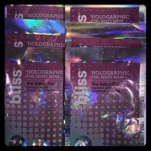 6- Bliss Holographic Face Masks